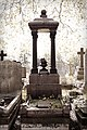 City of London Cemetery Central Avenue Fleet monument 1a Fuji DXO FilmPack Provia 400X Photo 70s preset .jpg