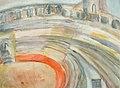 Clara Vogedes - Provence, Das Amphitheater von Arles, 1969.jpg