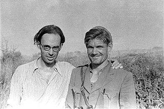 Claud Cockburn - Claud Cockburn (left).