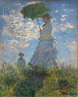 Woman With A Parasol Madame Monet And Her Son Wikipedia