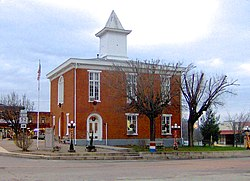 Clay County Courthouse in Celina