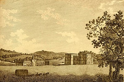 Etching of Clearwell Castle in 1775 Clearwell Castle 1775.jpg