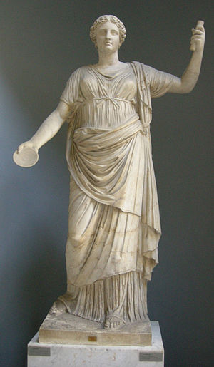 Clementia - Ancient statue of Clementia in the Museo Chiaramonti