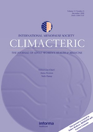 Climacteric (journal) - Image: Climacteric Cover Image 300x 211