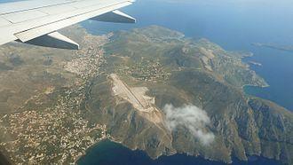 Kalymnos Island National Airport - Image: Climbing at Kalymnos Island 02