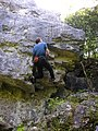 Climbing on Fairy Steps - geograph.org.uk - 1596269.jpg