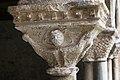 Cloître de la cathédrale Saint Lizier-Chapiteau (Diable et bêtes sauvages)-20150502.jpg
