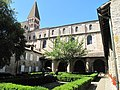 Cloister of Saint-Philibert Abbey 2.jpg