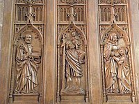 Co-cathédrale N.D. de Bourg-en-Bresse (Stalles- St-Pierre St-Christophe et Ste-Anne).jpg