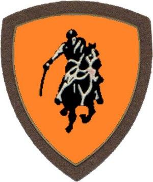 Folgore Mechanized Division - Image: Co A mil ITA arm bde Vittorio Veneto