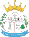 Coat of Arms of Carmo do Cajuru - MG - Brazil.png