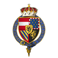Coat of arms of Philip, Archduke of Austria and Duke of Burgundy, KG.png