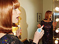 Coco Peru is told its show time by David Shankbone.jpg