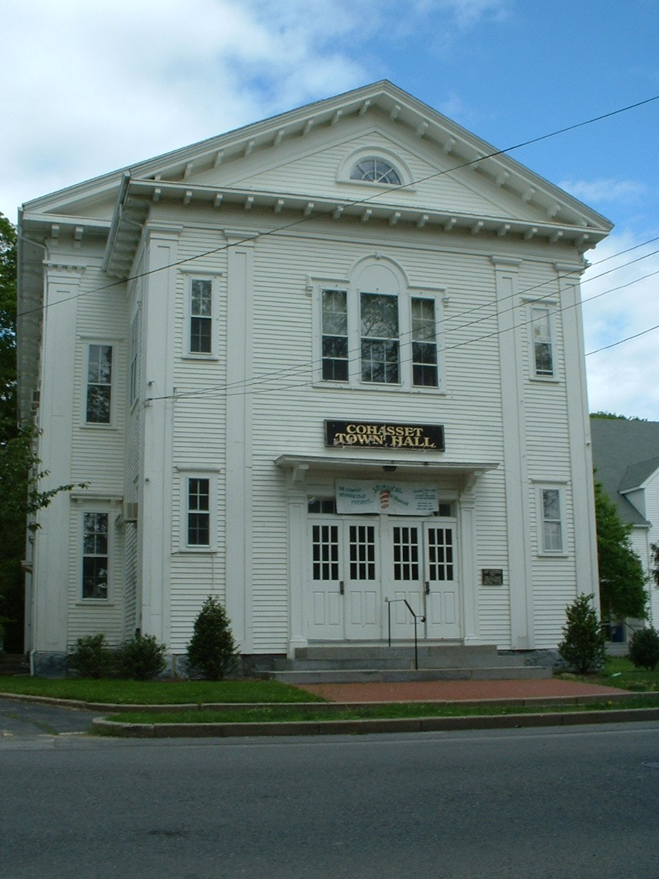 Cohasset MA Town Hall