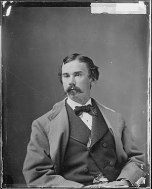 John Hay - Hay as a young man.  Portrait by Mathew Brady.