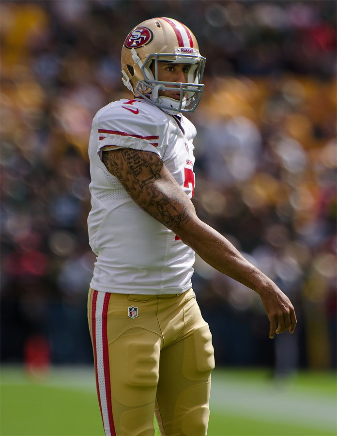 Colin Kaepernick - San Francisco vs Green Bay 2012