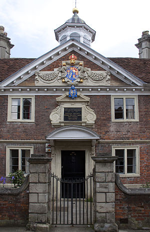 College of Matrons - Details of entrance and top of roof lantern