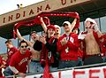 College soccer fans indiana 2004.jpg