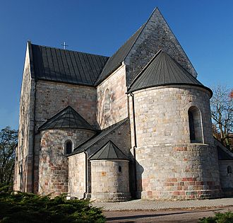 Kuyavia - 12th-century Sts. Peter and Paul collegiate church in Kruszwica