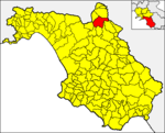 Locatio Colliani in provincia Salernitana