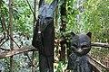 Collodi, Parco di Pinocchio, il gatto e la volpe 05.jpg