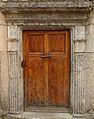 Colmars - Eglise Saint-Martin - Porte latérale.JPG