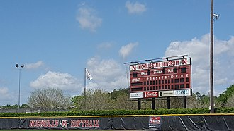 Colonels Softball Complex - Image: Colonels Softball Complex (Thibodaux, Louisiana) outfield