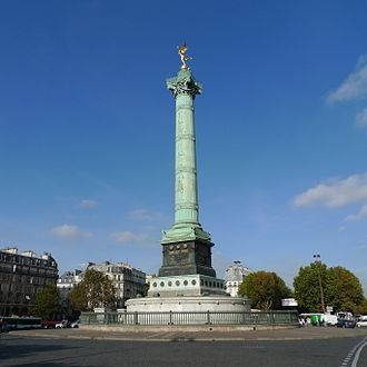 July Column - The Colonne de Juillet (1835-40)