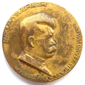 Commemorative medal. Rudolf Blaumanis. 1929. T. Zalkaln. Obverse.png