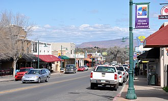 "Cottonwood, Arizona - ""Old Town"" Historic District"