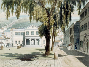 Main Guard (Gibraltar) - Image: Commercial Square, Dibdin