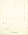 Comparison draught between the anchor design of Perring's, Lt. Roger's, and a new anchor RMG J0554.png