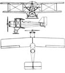 Comte Wild X 3-view Le Document aéronautique July,1928.png
