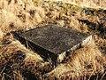 Concrete block at Starfish decoy site - geograph.org.uk - 1692092.jpg