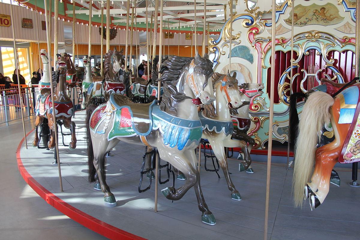 B B Carousell Coney Island Ny