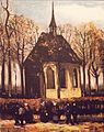 Congregation Leaving the Reformed Church in Nuenen (stolen) - My Dream.jpg