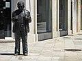 Conjunto Histórico de la Ciudad de Lugo, Estatua a Anxel Fole.jpg