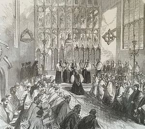 Henry Mackenzie (bishop) - Mackenzie consecration in St Mary's Church, Nottingham