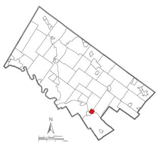 Conshohocken, Pennsylvania - Image: Conshohocken Montgomery County