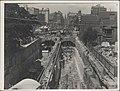 Construction of railway tunnels for the Sydney Harbour Bridge, 1928 (8282697211).jpg