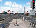 Container terminal at the east end of Alexandra Road - geograph.org.uk - 2077807.jpg