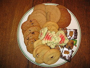 Eight types of cookies