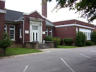 Cordova, Tennessee - Cordova School, now the Community Center