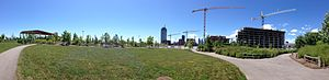 Corktown Common - Corktown Common July 2013