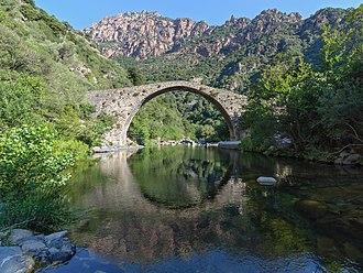 Corse-du-Sud - Image: Corse Ota pont genois Pianella