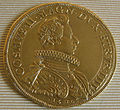 Cosimo II granduke of tuscany coins, 1609-1620, piastra d'oro 1610.JPG