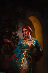 File:Cosplay of Triss Merigold in alternative outfit (The