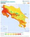 Costa-Rica GHI Solar-resource-map lang-ES GlobalSolarAtlas World-Bank-Esmap-Solargis.png