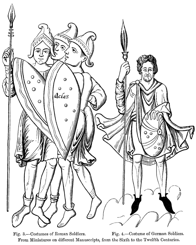 Comedy Of Errors Worksheet : File costumes of roman and german soldiers wikimedia