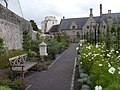 Cowbridge Physic Garden with Holy Cross Church - geograph.org.uk - 1461207.jpg